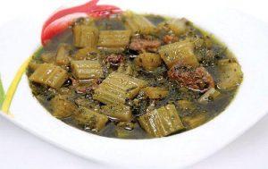 طرز تهیه خورش کرفس 1 طرز تهیه خورش کرفس طرز تهیه خورش کرفس