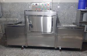 عکس ارسالی مشتری از ماشین ظرفشویی صنعتی سورنکو