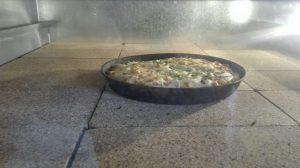 پخت پیتزا