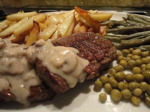 طزر تهیه استیک گوشت